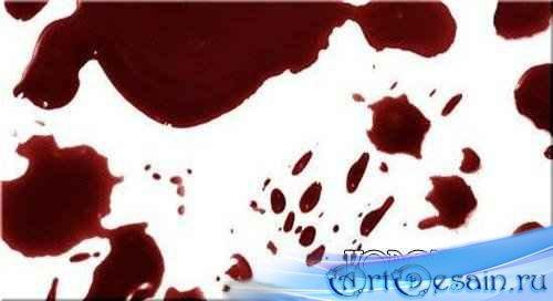 Видеоурок по Adobe Photoshop Пятно крови