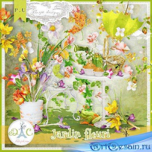Комплект для скрапбукинга - Цветущий сад