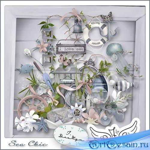Морской скрап-комплект - Морской шик