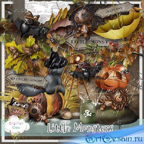 Скрап-комплект - Little Monsters