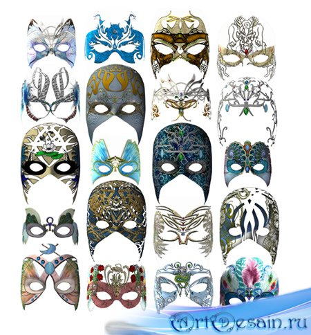 Карнавальные маски / Carnival masks