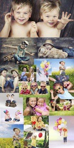 Сборник клипартов - Веселые детки