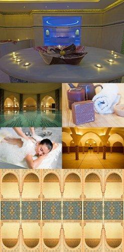 Растровый клипарт - Восточная баня