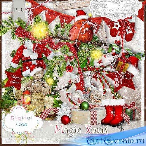 Скрап-комплект - Сказочное Рождество