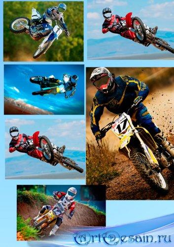 Шаблоны для фотошопа  - Мотокросс - это сила