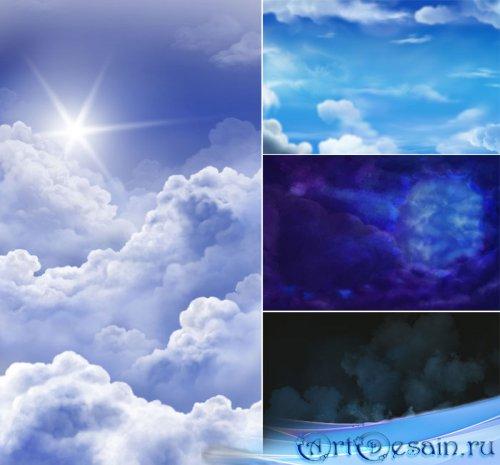 PSD-исходники - Небо и тучи