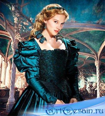 Шаблон  женский – Сказочная принцесса