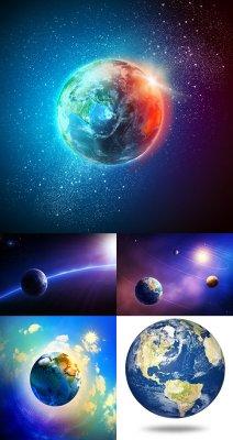 Растровый клипарт - Планета Земля