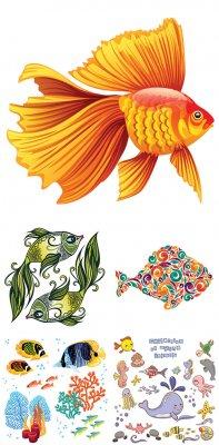 Векторный клипарт - Рыба