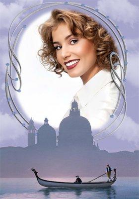 Рамка женская - Венеция