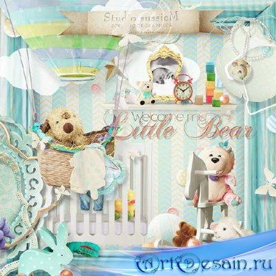 Цифровой скрап-набор - Welcome My Little Bear