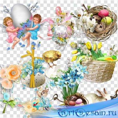 Пасхальный клипарт – День Святого Воскресения
