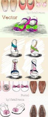 Женская, детская и мужская обувь  в Векторе