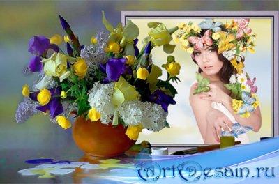 Рамка женская – Краски лета