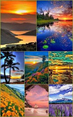 Пейзажные фоны для рамок 3