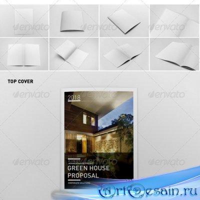 GraphicRiver - Photorealistic Brochure Mock-ups