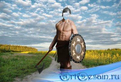 Шаблон для мужчин - Воин в степях