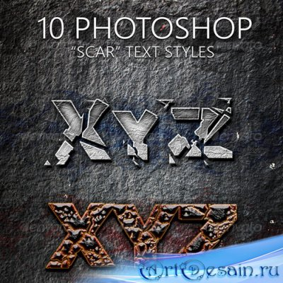 GraphicRiver - 10 Scar Text Styles - 7433434