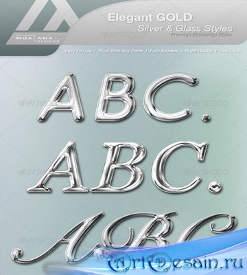 Elegant Gold, Silver & Glass Styles