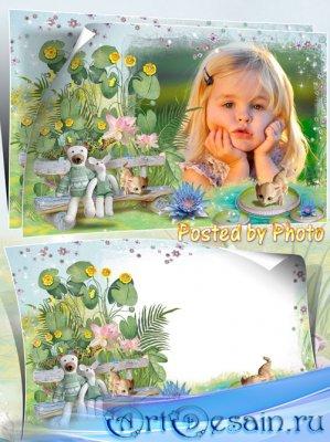 Детская рамка для фото - В сказке