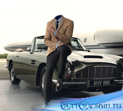 Шаблон для фотошопа - Ваше ретро авто