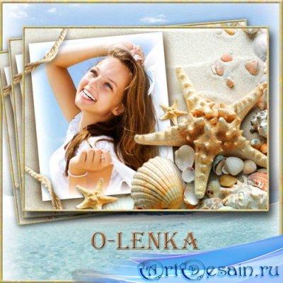 Рамка для фотошопа - Cвет морской звезды