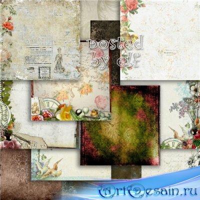 Винтажные фоны для дизайна и творческих работ