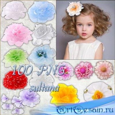 Клипарт банты для волос девочкам на прозрачном фоне