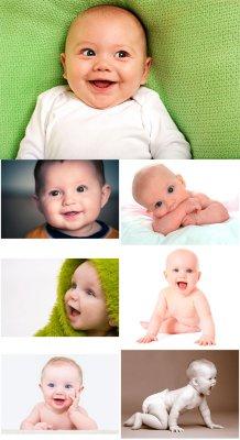 Очаровательные маленькие дети - растровый клипарт
