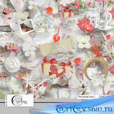 Романтический скрап-комплект - Подарок для тебя мамочка
