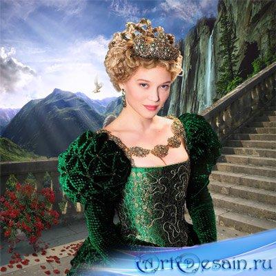 Шаблон  женский – Принцесса Грёза