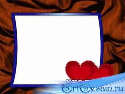 Красивая рамка про любовь