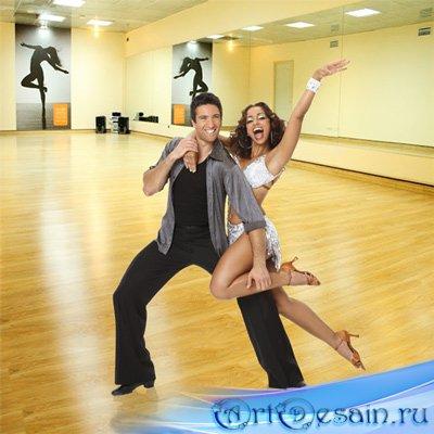 Шаблон  мужской - Танец для двоих
