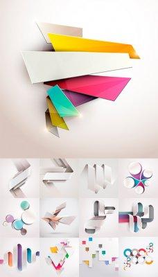 Элементы для дизайна - векторный клипарт