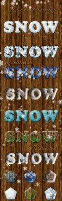 Стили для Дизайна - Снежная Зима