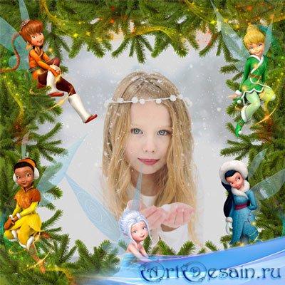 Рамка детская – Чудеса в лесу