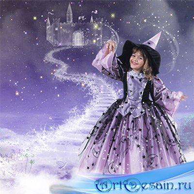 Шаблон  детский - Фея миражей