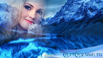 Рамка к фото - Зимняя красота