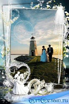 Фоторамочка - Наше свадебное фото