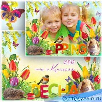 Рамка для фото - Весна