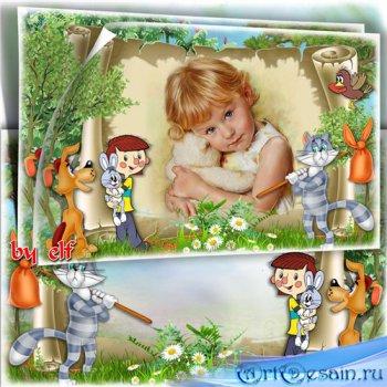 Рамка для детских фото - В деревне Простоквашино