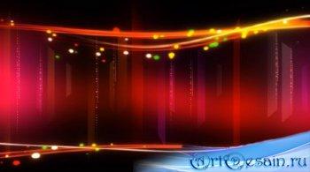 Футаж - Световой переплёт с огоньками