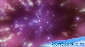 Футаж - Мерцающие лучи света