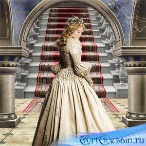 Шаблон  женский – Старый замок
