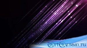 Футаж с мерцающими звёздочками