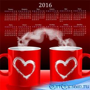 Календарь на 2016 год – Дела сердечные