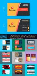 Оригинальные визитки - Коллекция шаблонов