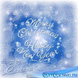 PSD исходник - Волшебный праздник новогодний 17