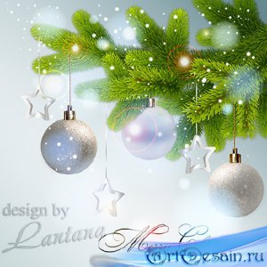 PSD исходник - Волшебный праздник новогодний 30