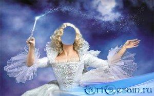 Шаблон для Photoshop - Магия от волшебницы